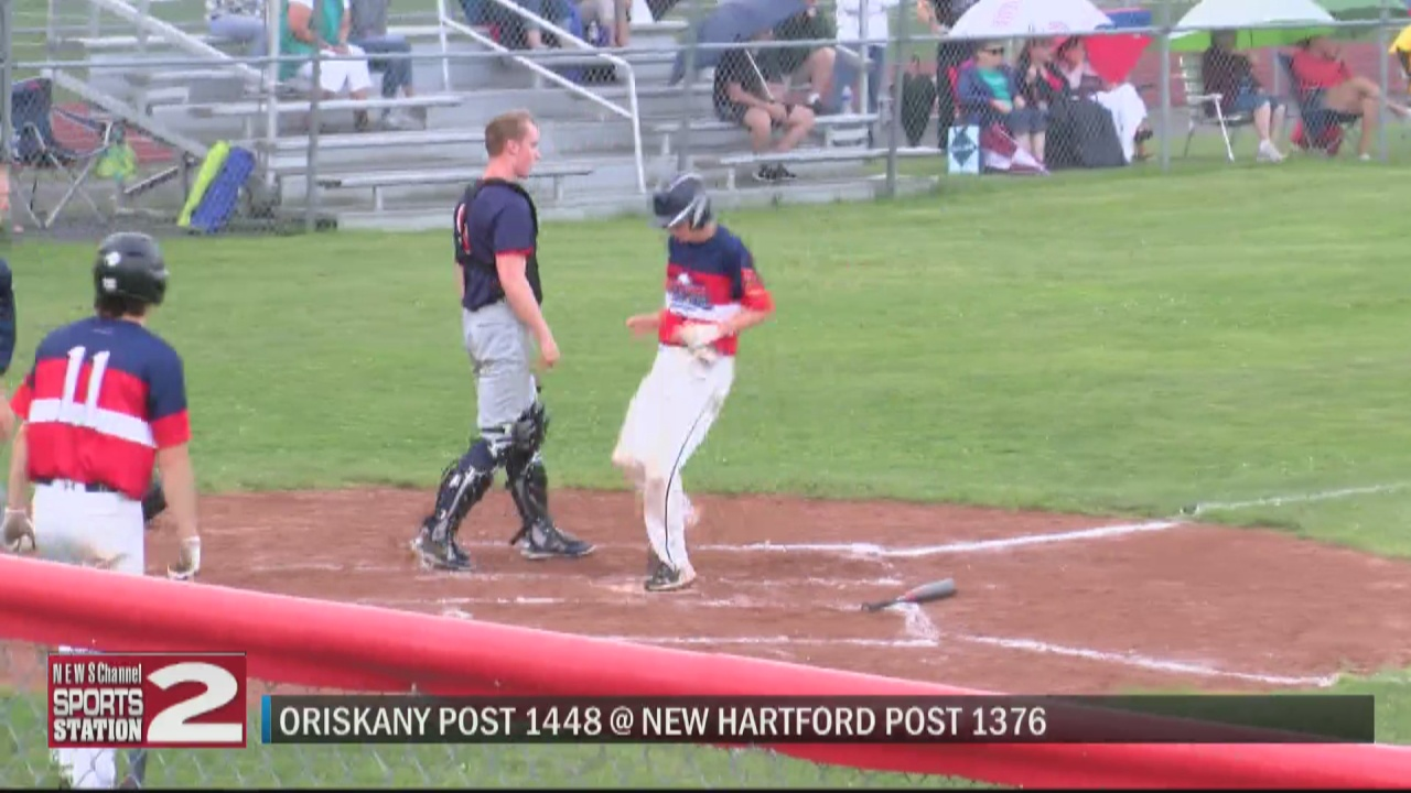 Image for SCORES 7-9-21: New Hartford Post bounces back to top Oriskany Post in second game of two-opponent doubleheader
