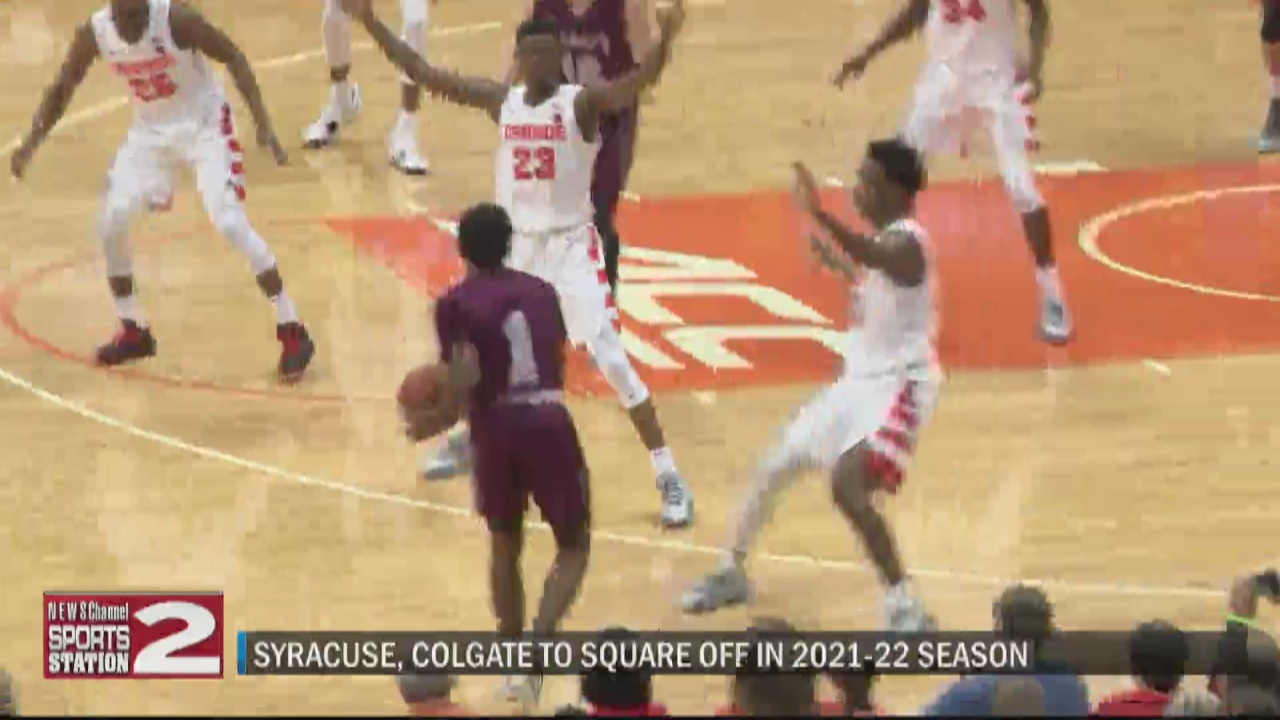 Image for Battle of Central New York returns as Colgate, Syracuse set to meet in 2021-22 men's basketball season
