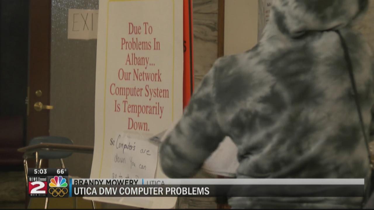 Image for Utica DMV still closed
