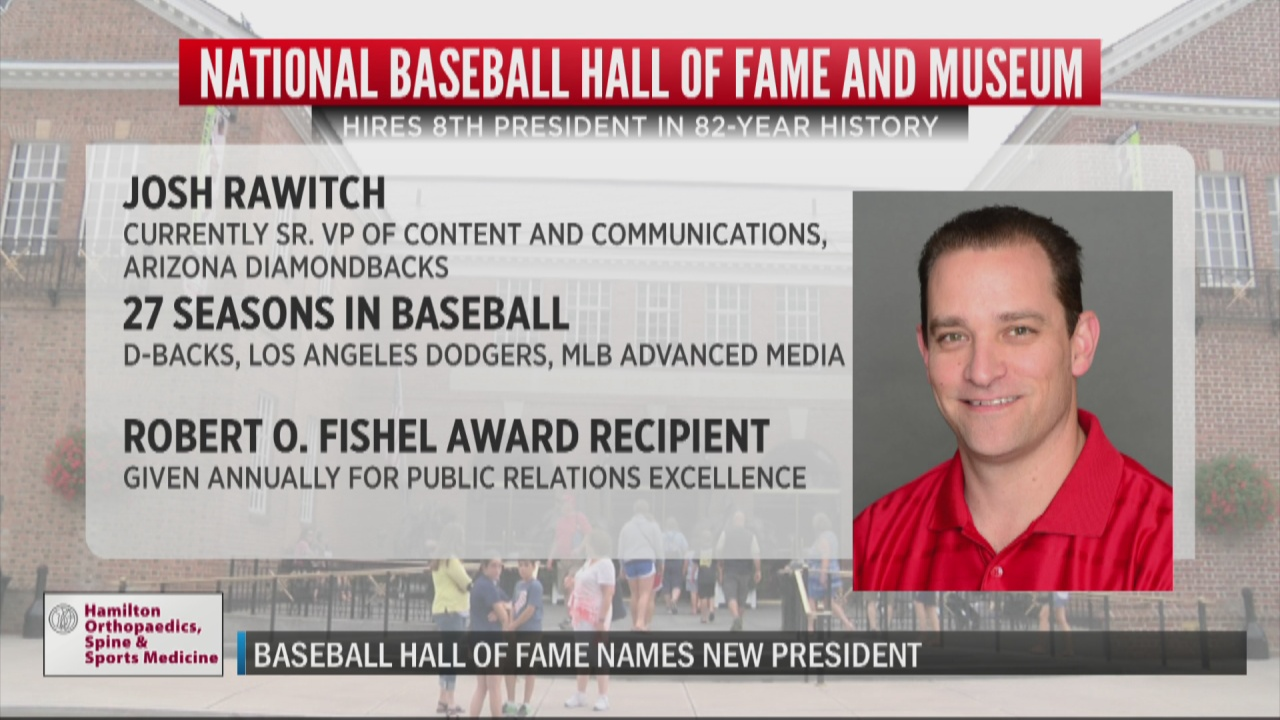 Image for National Baseball Hall of Fame and Museum names new president