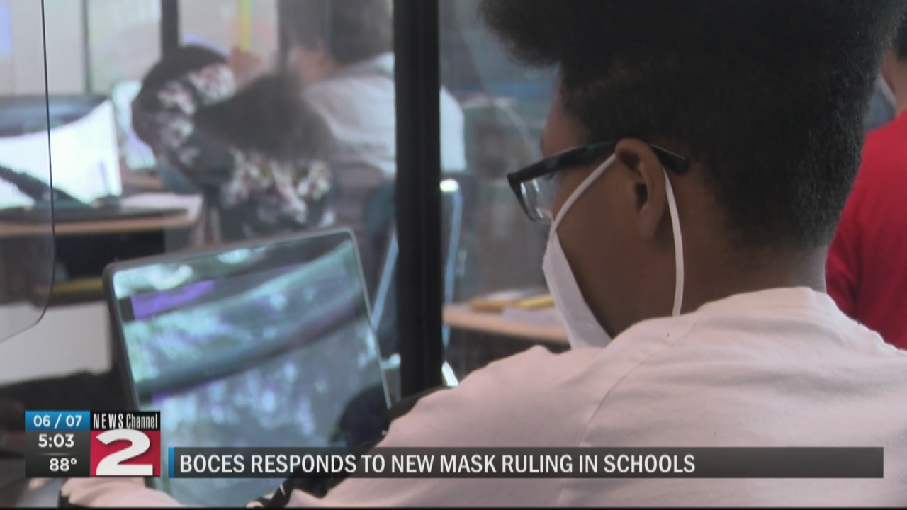 Image for NY drops outdoor mask mandates in schools, awaits CDC guidance on indoor requirements