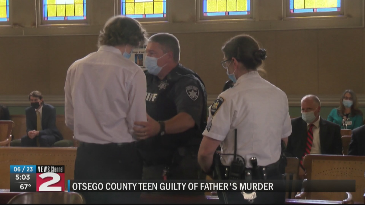 Image for Worcester teen found guilty in father's murder