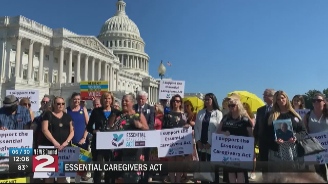 Image for Rally in Washington to support Tenney's Essential Caregivers Act