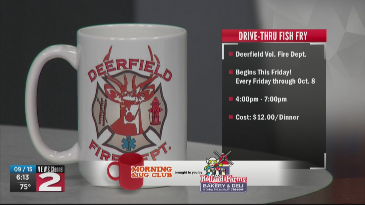 Image for Mug Club: Deerfield Vol. Fire Dept. Fish Fryday's Begin Sept. 17