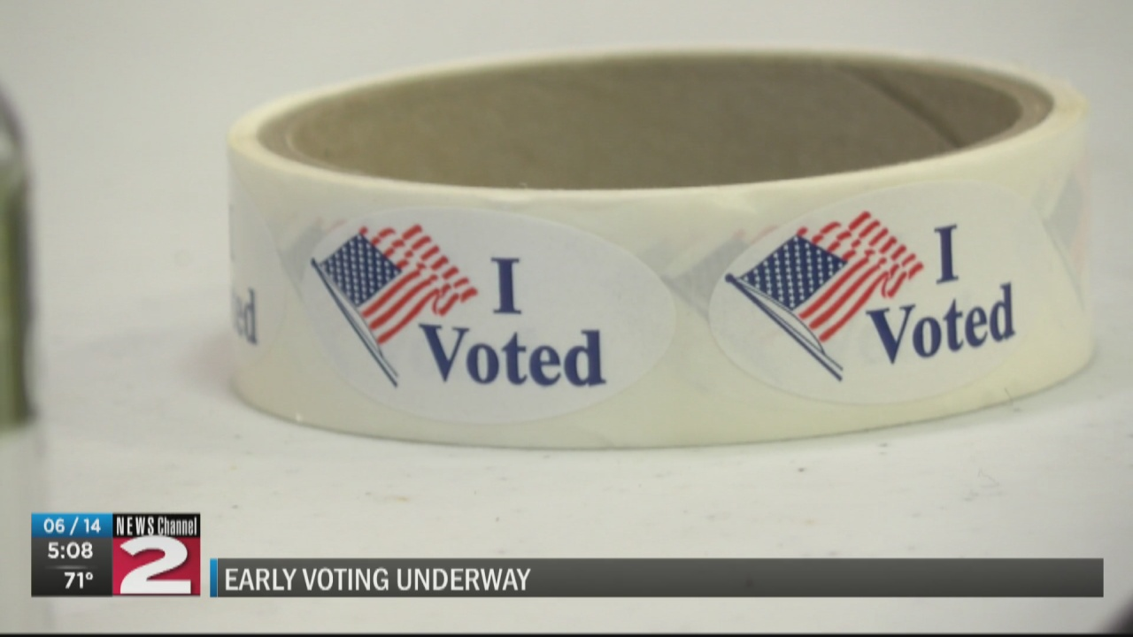 Image for Early voting underway in Oneida County