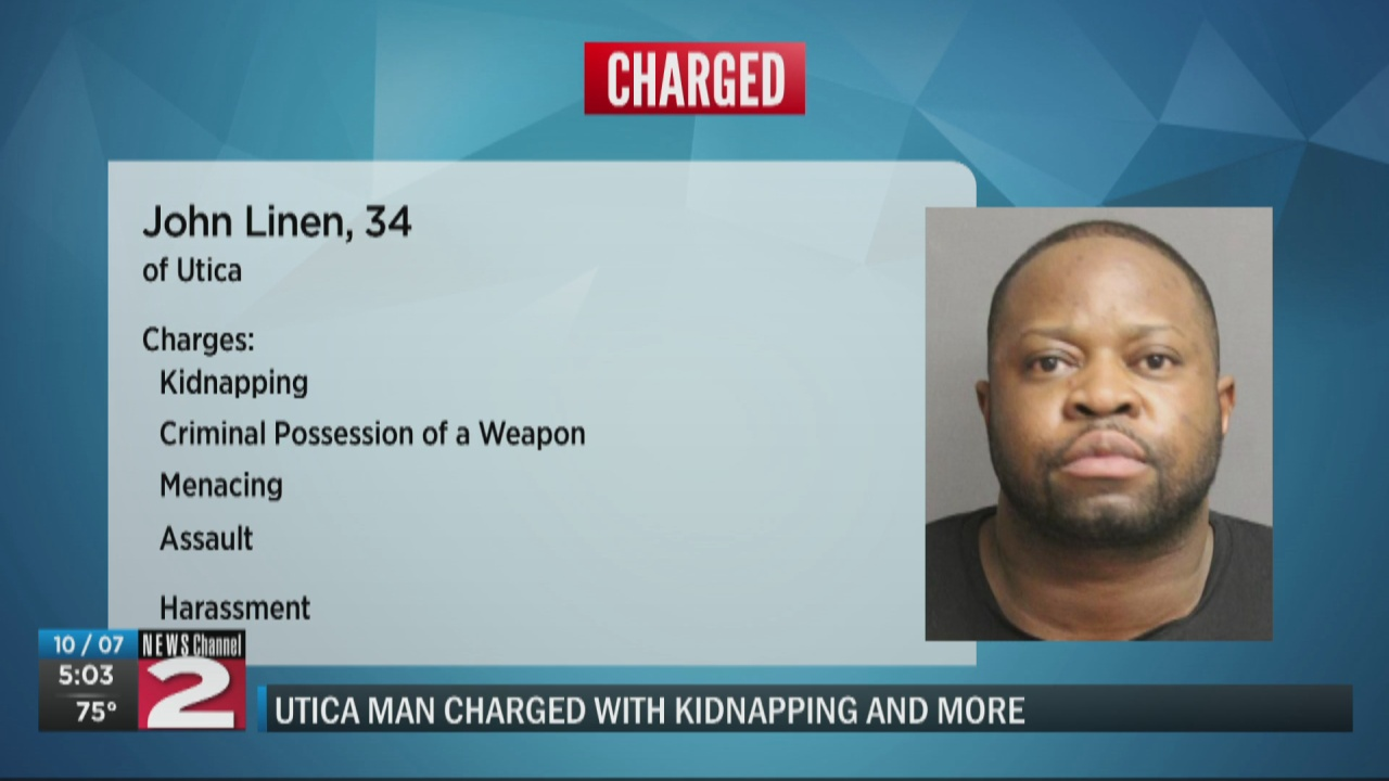 Image for Utica man accused of assaulting girlfriend, holding her against her will
