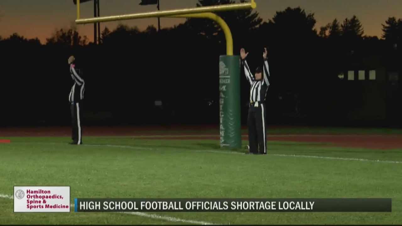 Image for Concern mounts over shortage of high school football officials locally with new season around the corner