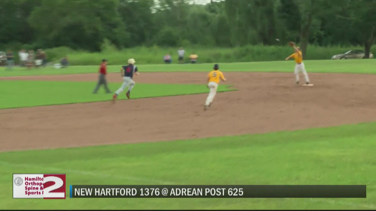 Image for SCORES 7-13-21: Adrean Post eliminates New Hartford Post from District 5 playoffs; Snyder Landscaping hands Gates Cole Insurance first loss of season in ULK Premier League