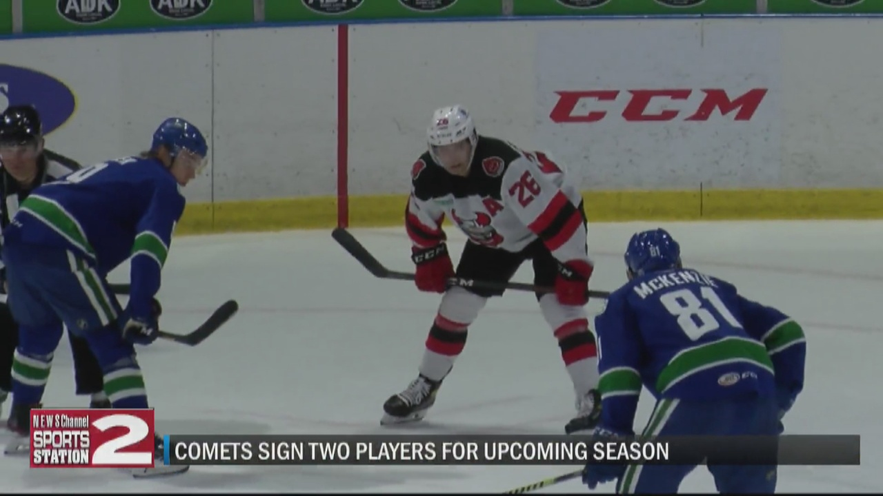 Image for Comets sign pair of forwards for upcoming 2021-22 season
