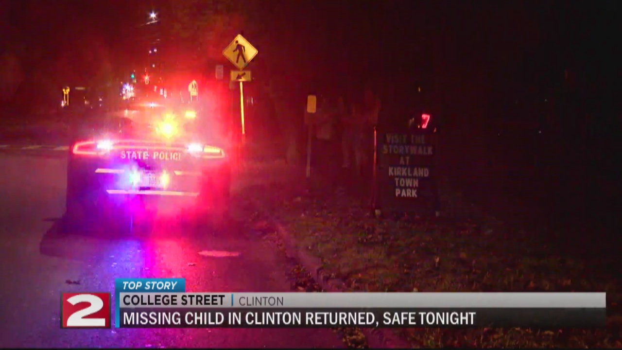 Image for Missing 5-year-old found safe in Clinton