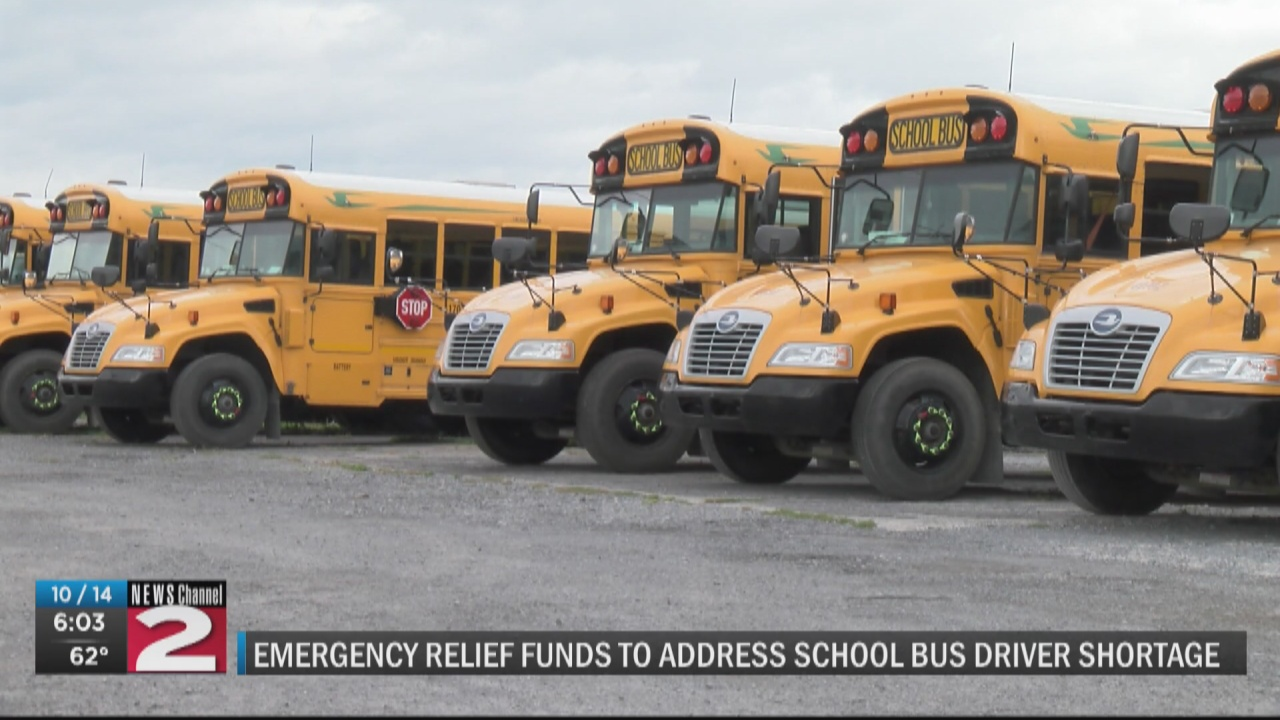 Image for Gillibrand: School districts can use pandemic relief funding to address bus driver shortages