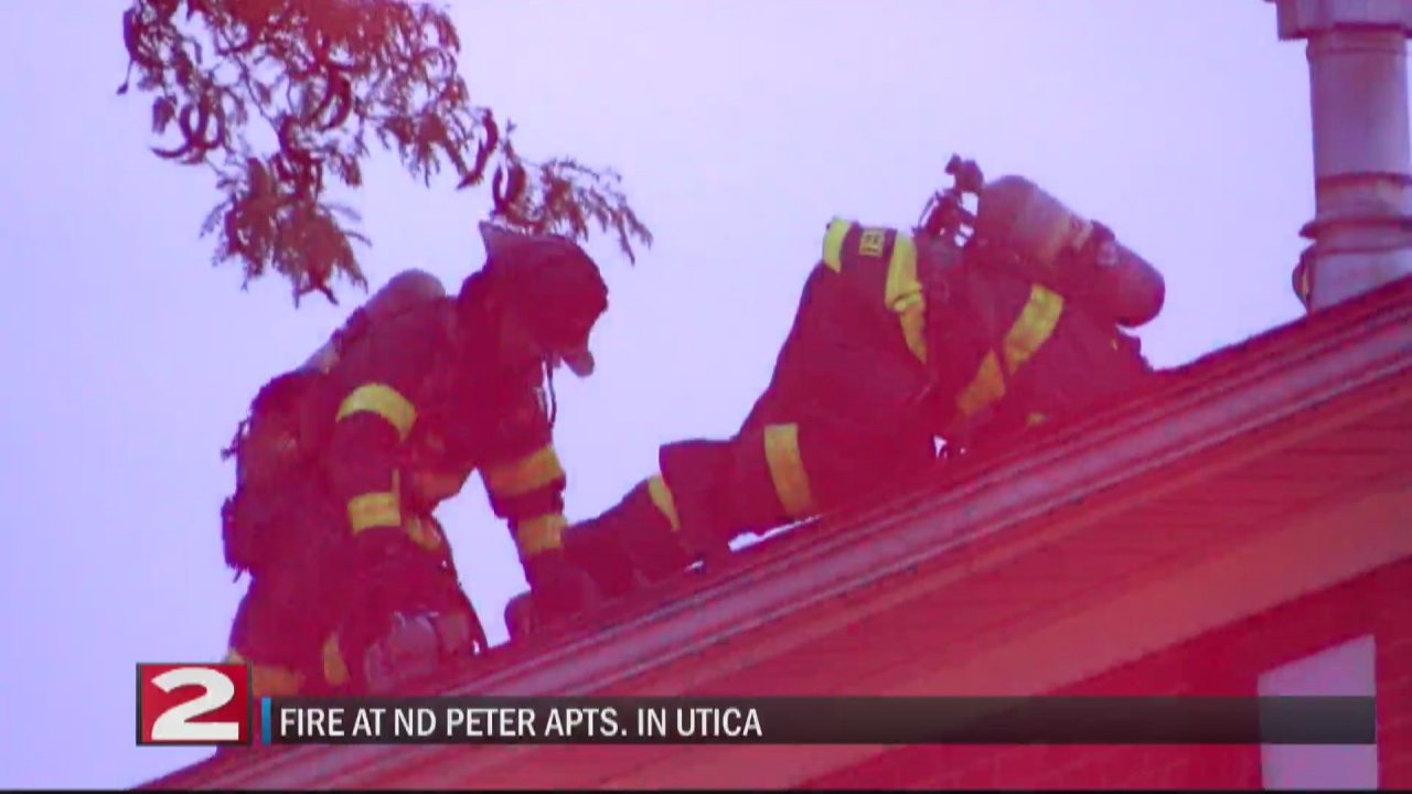 Image for Utica fire crews make quick work of apartment fire on Armory Drive