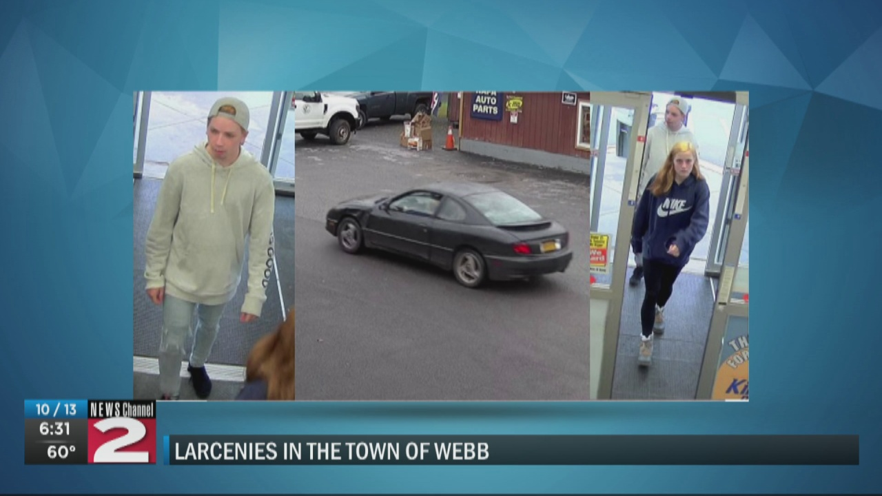 Image for Police searching for 2 suspects in Old Forge thefts