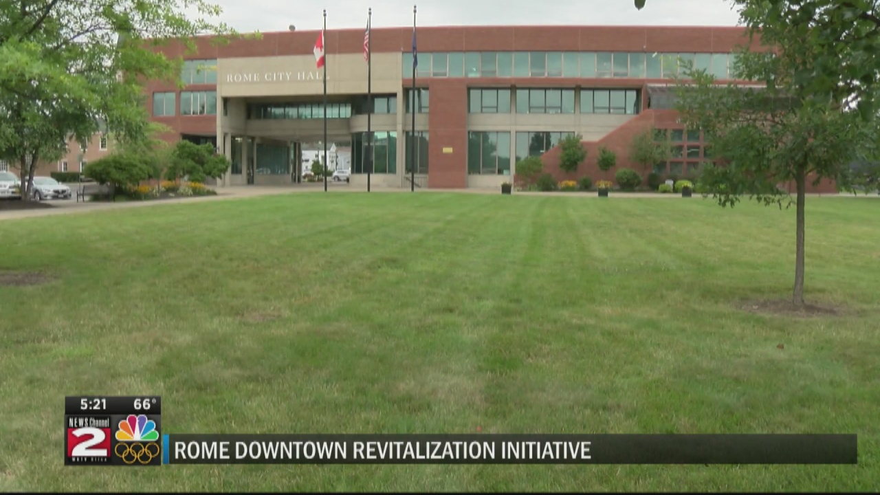Image for Moving forward on Rome Downtown Revitalization Initiative
