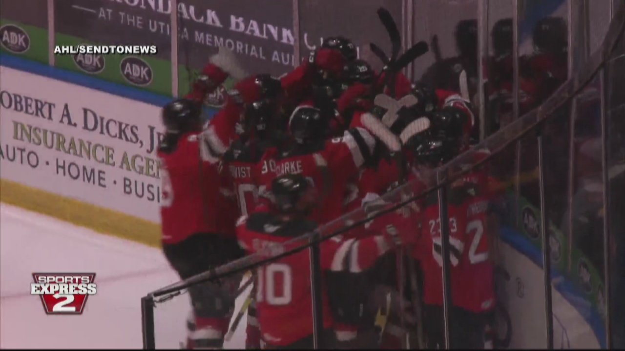 Image for Comets edge Bruins in overtime for second straight win to start the season