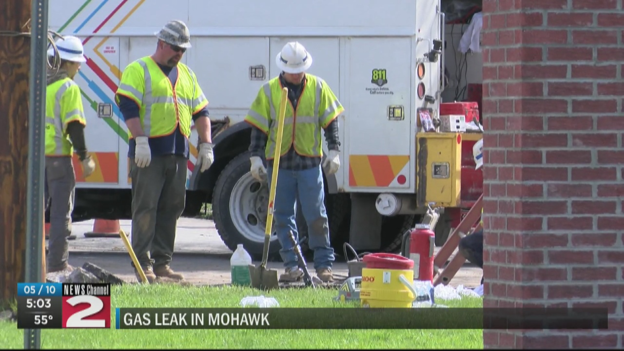 Image for National Grid crews working on gas leak in Mohawk