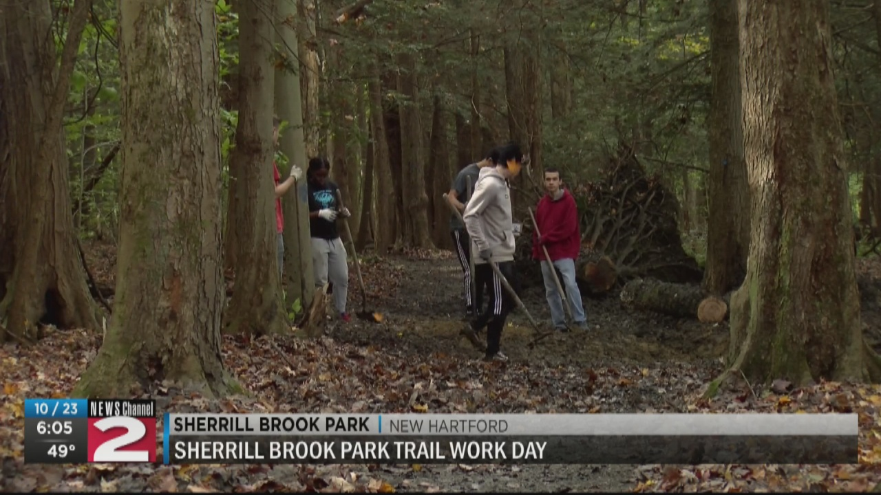 Image for Sherrill Brook Park Trail gets a makeover