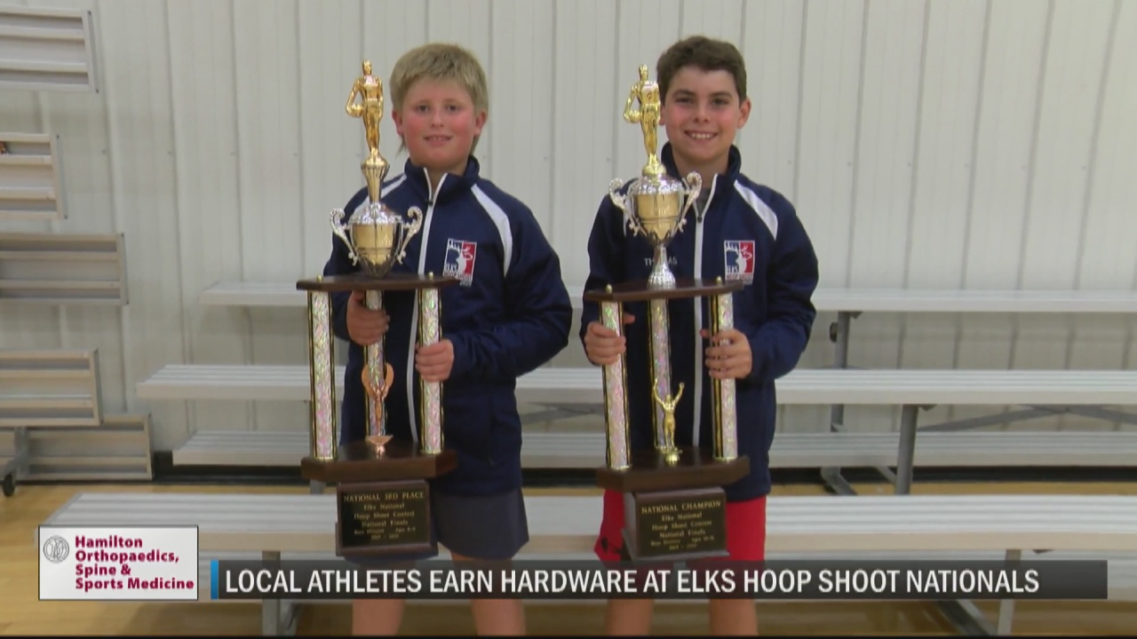 Image for New Hartford's Goodelle wins national title, Herkimer's Saunders finishes third nationally at delayed 2020 Elks Hoop Shoot competition