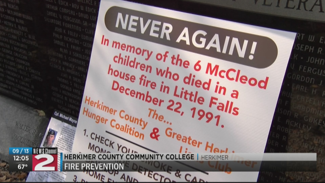 Image for Never Again project promotes Fire Safety