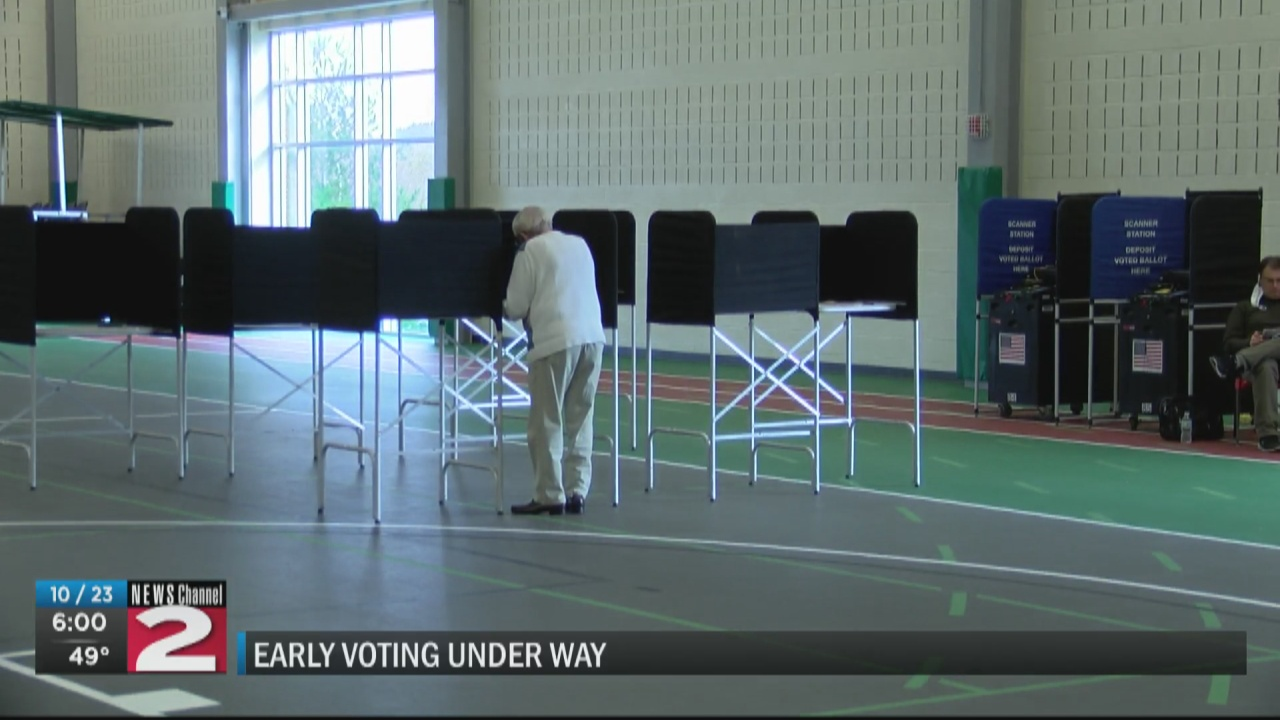 Image for Registered voters have begun casting their ballots