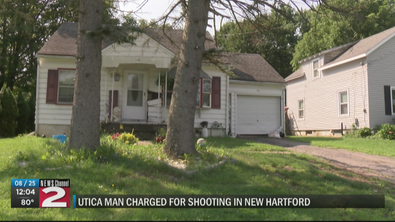 Image for Utica man charged with attempted assault after firing gun at someone in New Hartford