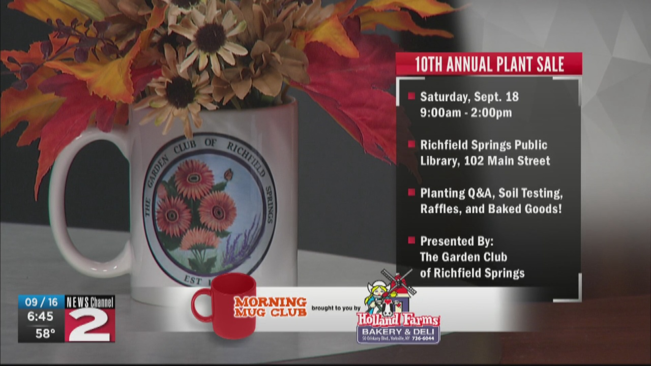 Image for Mug Club: The Garden Club of Richfield Springs to Host 10th Annual Plant Sale