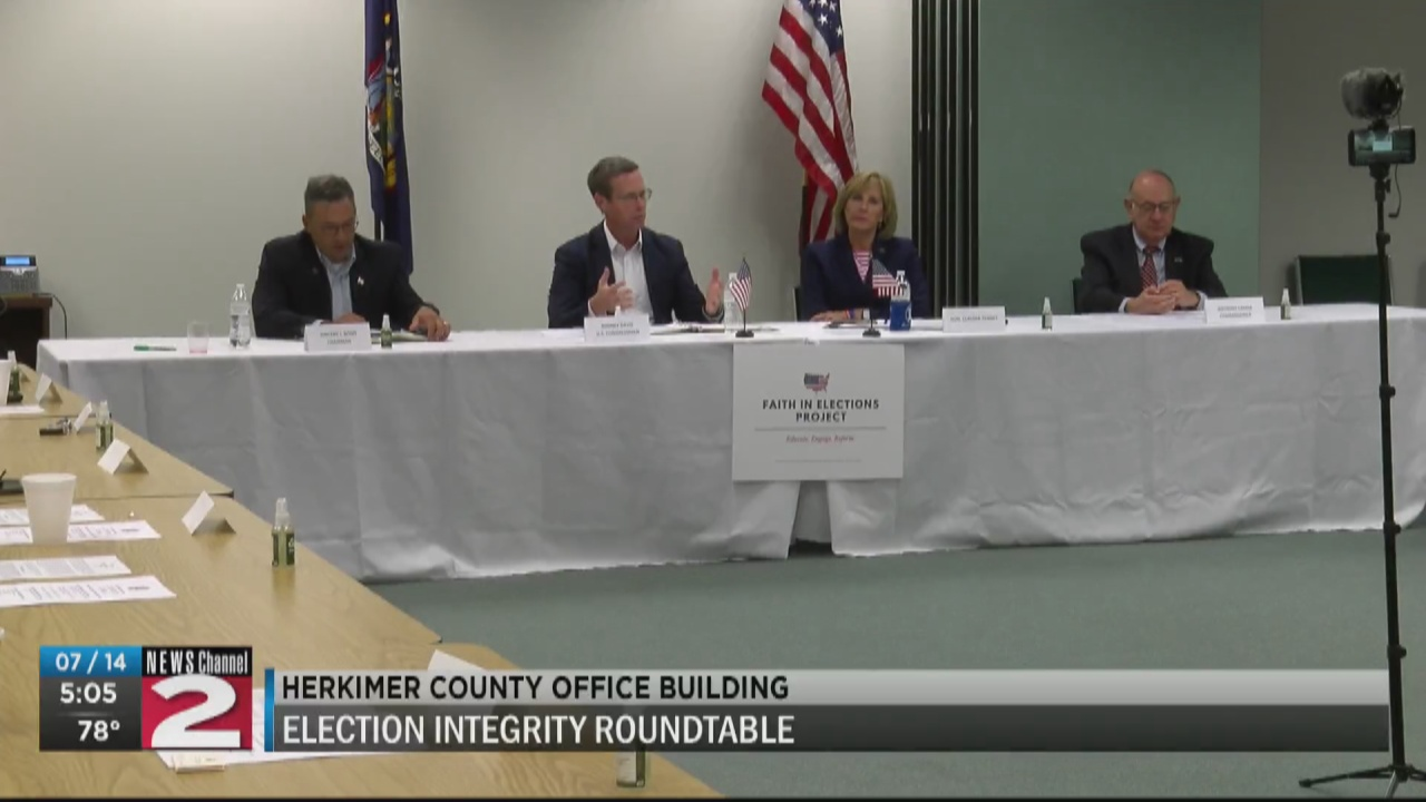 Image for Tenney brings local leaders together to discuss election integrity