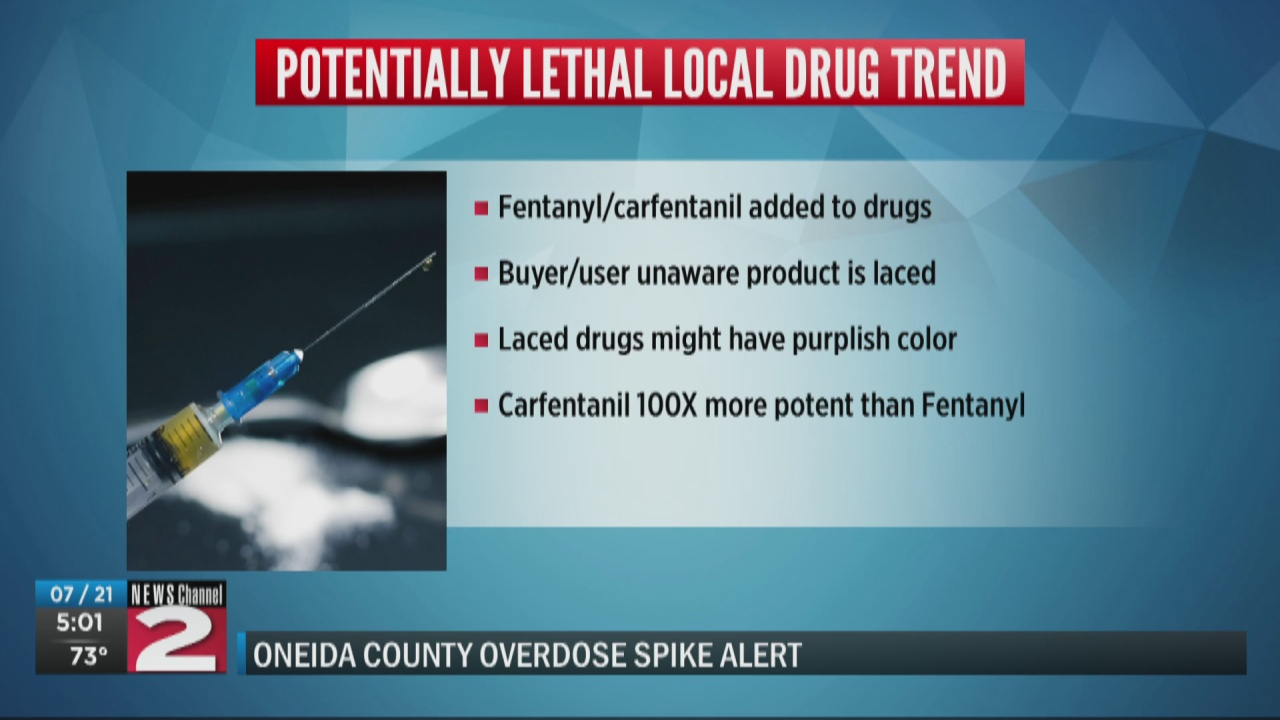 Image for Oneida County Overdose Response Team issues spike alert, warns of laced cocaine