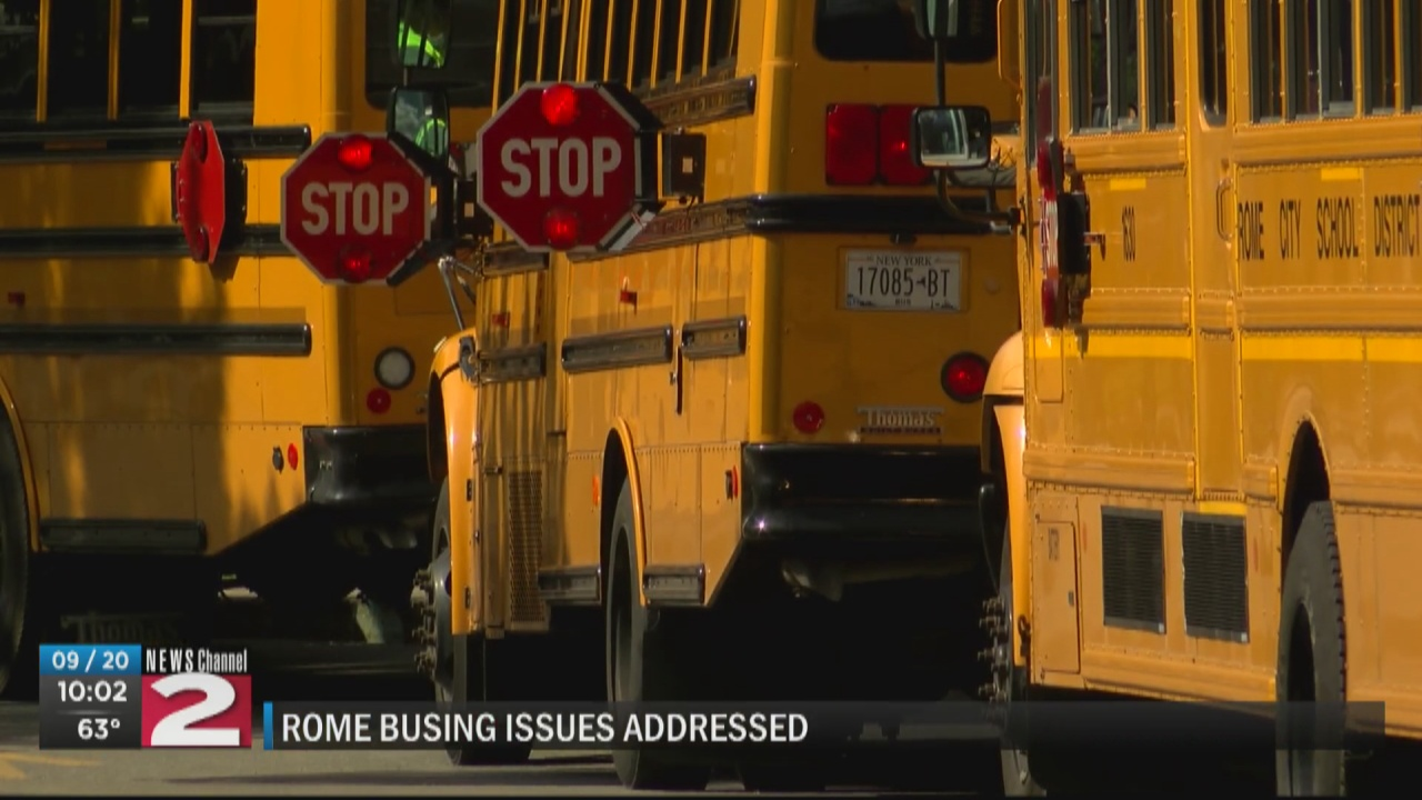 Image for Rome School Board holds special meeting to address busing concerns