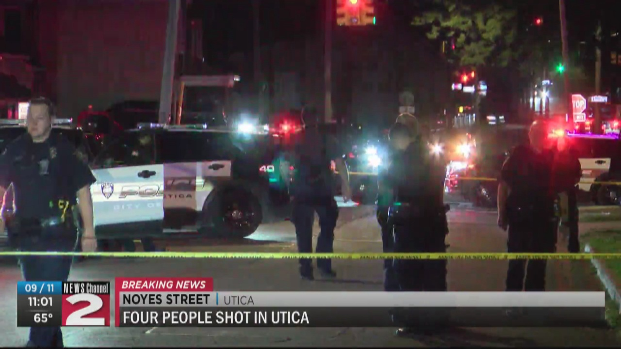 Image for Four men shot in Utica between 23 and 39 years old