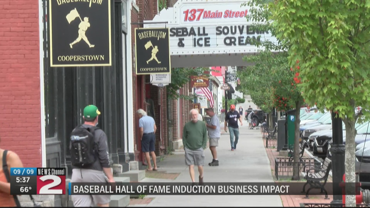 Image for Baseball Hall of Fame Induction business impact