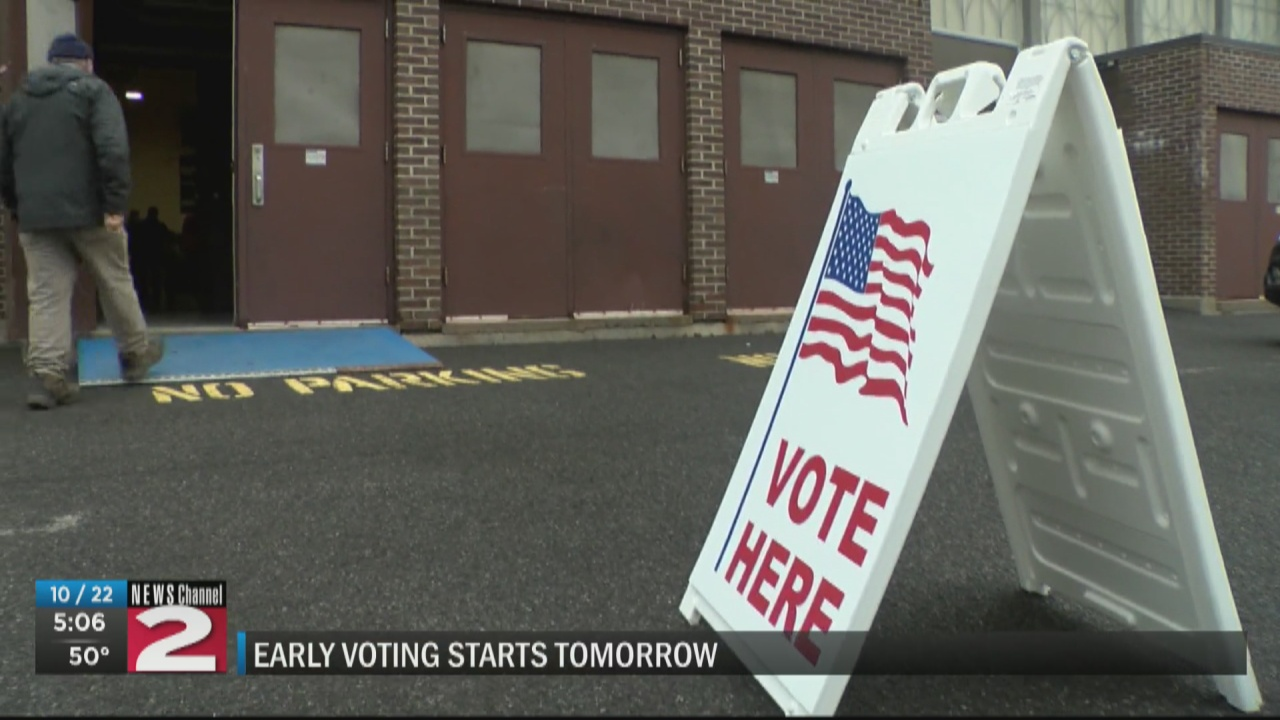 Image for County Boards of Election prepare for early voting