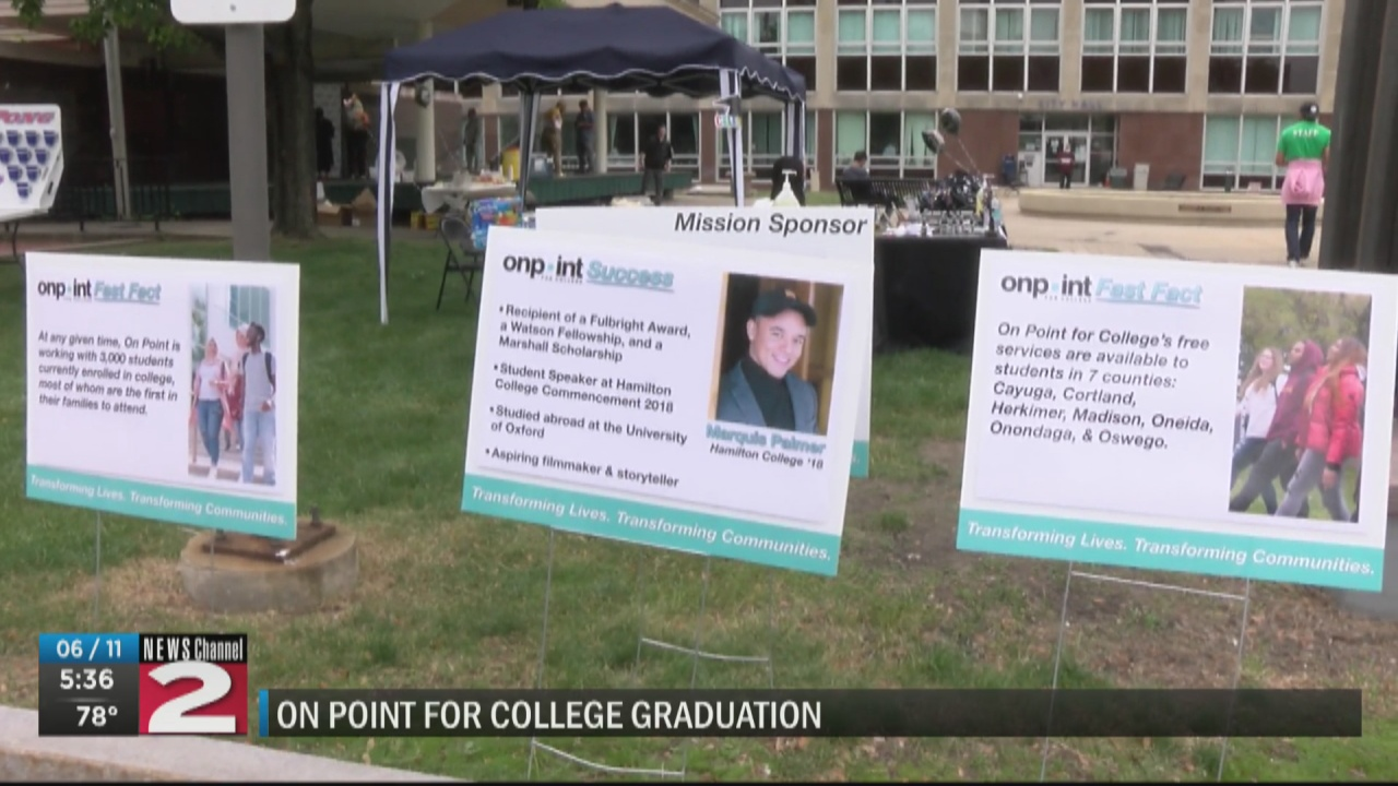 Image for On Point for College celebrates graduates at Hanna Park