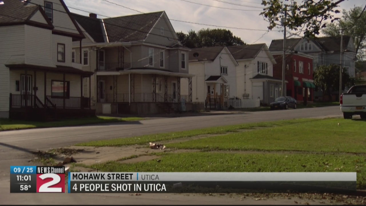 Image for Utica police investigate shooting on Mohawk Street