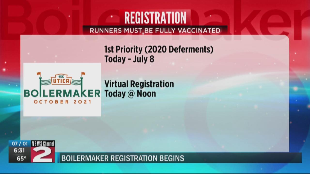 Image for First phase of Boilermaker registration begins