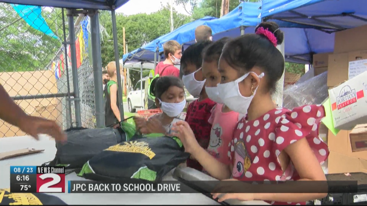 Image for Johnson Park Center is making sure area students are ready to go back to school