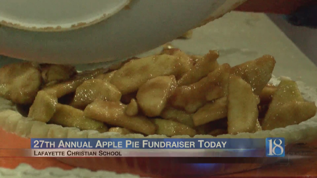 Image for Dutch Apple Pie fundraiser returns to Lafayette
