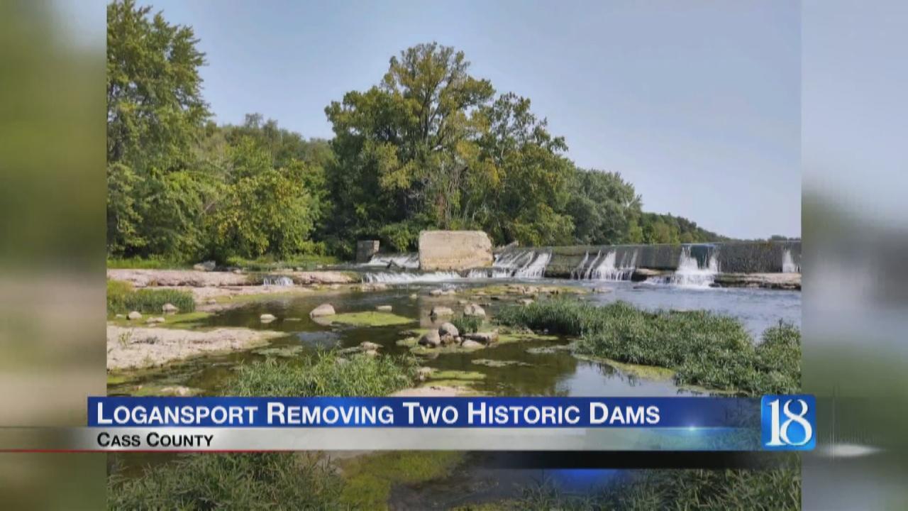 Image for Logansport Municipal Utilities removing dams on Eel River