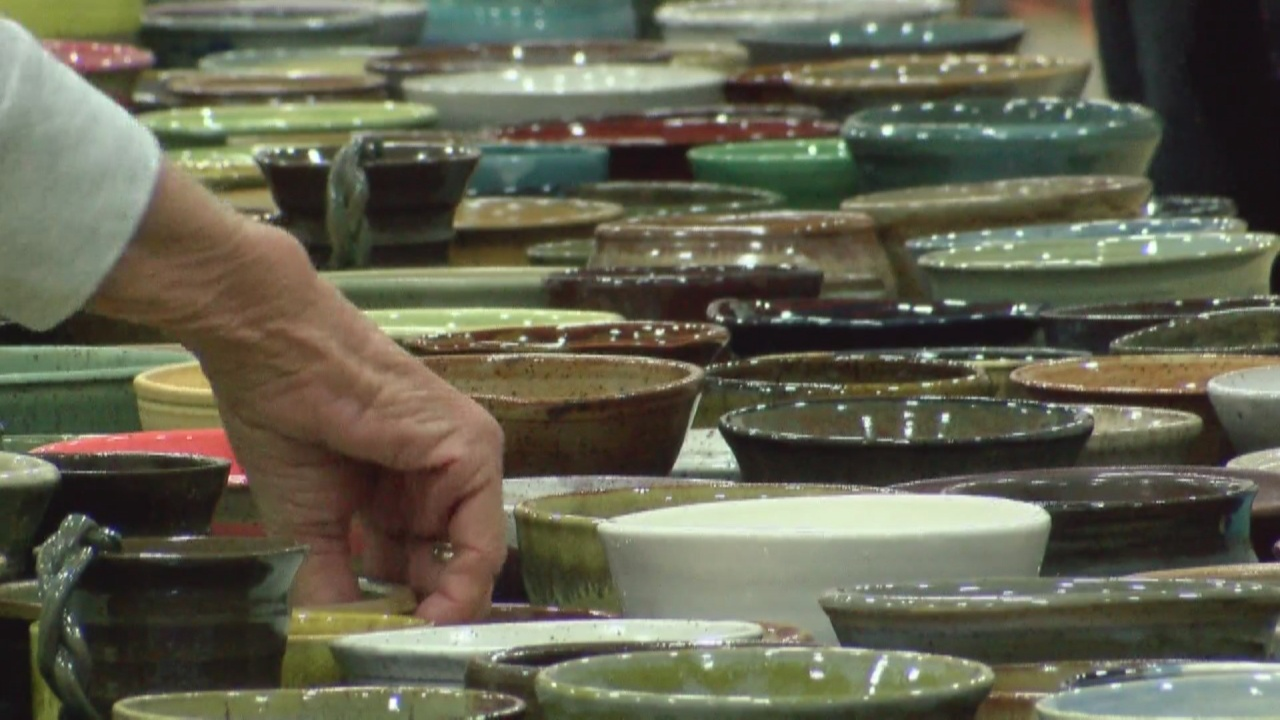 Image for Lafayette Clay Guild's annual fundraiser brings in much needed funds