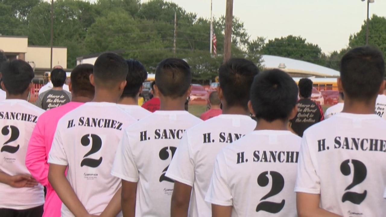 Image for Logansport soccer honors fallen Marine Cpl. Humberto Sanchez