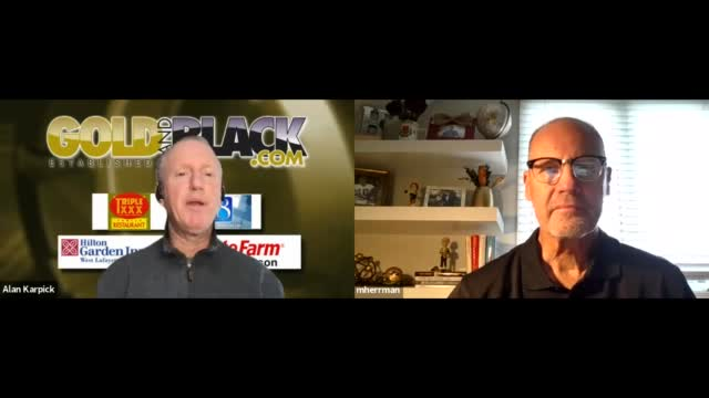 Image for Gold and Black LIVE Oct 15 Segment 2 with Mark Herrmann