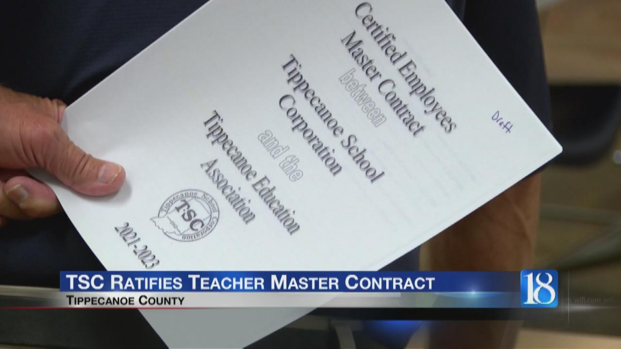 Image for TSC Ratifies Teacher Master Contract