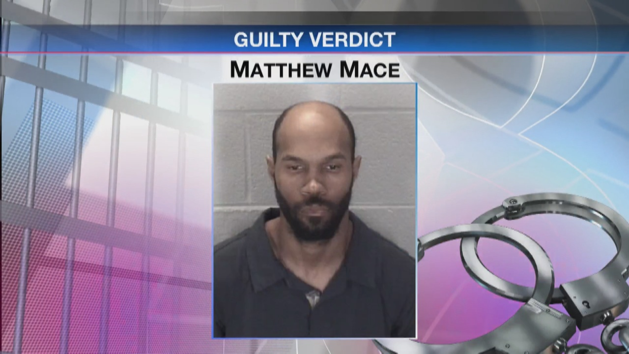Image for Lafayette man found guilty of murder: victim stabbed 54 times