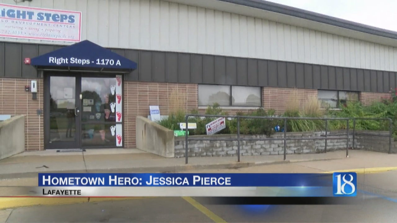 Image for Right Steps Center Director Jessica Pierce is being honored as a Hometown Hero