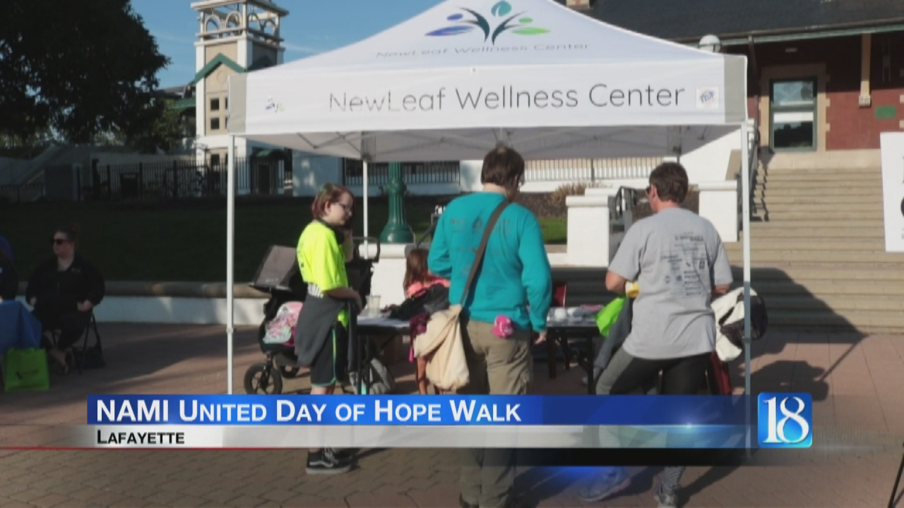 Image for NAMI hosts the annual United Day of Hope walk