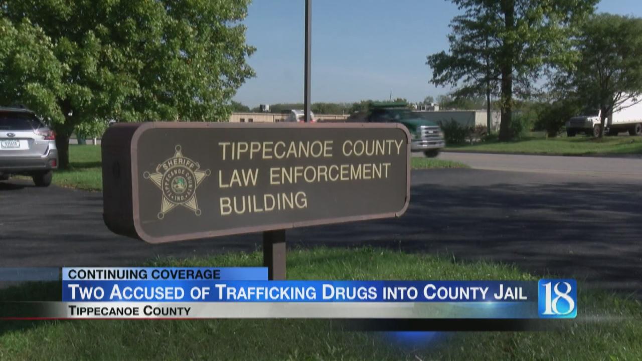 Image for Tippecanoe Co. Sheriff's Office investigating drug trafficking in the jail