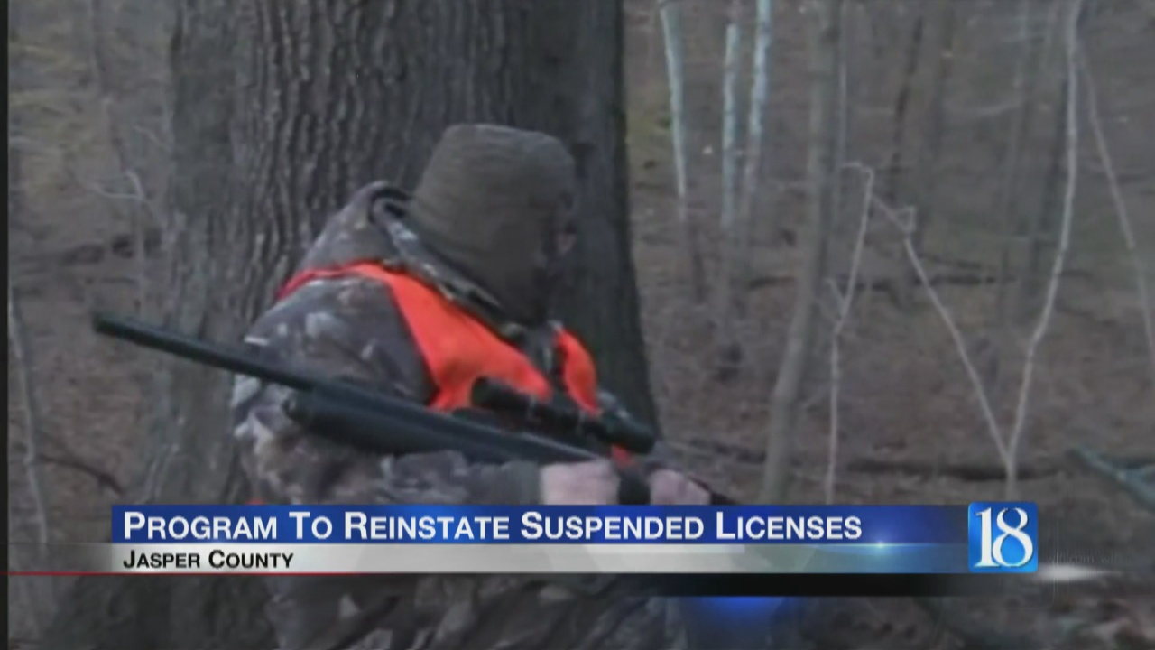 Image for Jasper County is introducing a way to reinstate suspended licenses for not paying child support