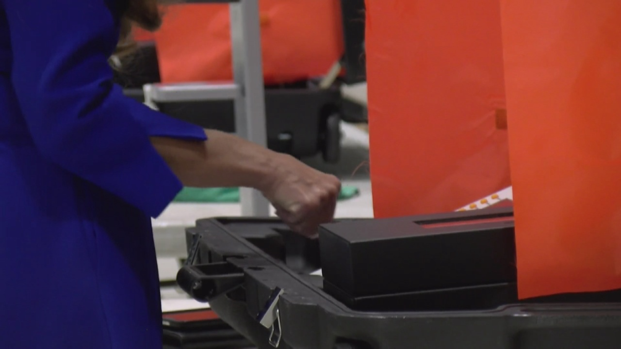 Image for Tippecanoe County holds mock election, tests voting machines