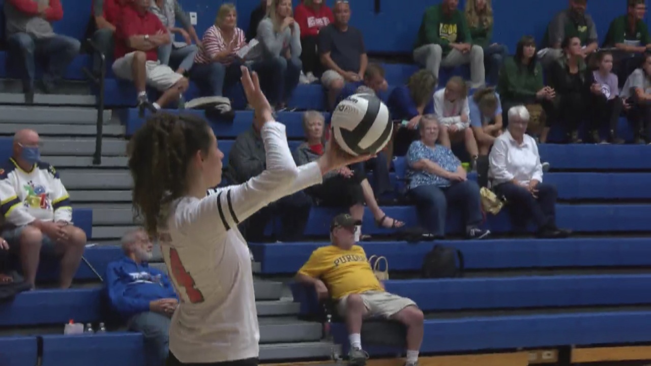 Image for West Lafayette Volleyball Advances on in sectionals