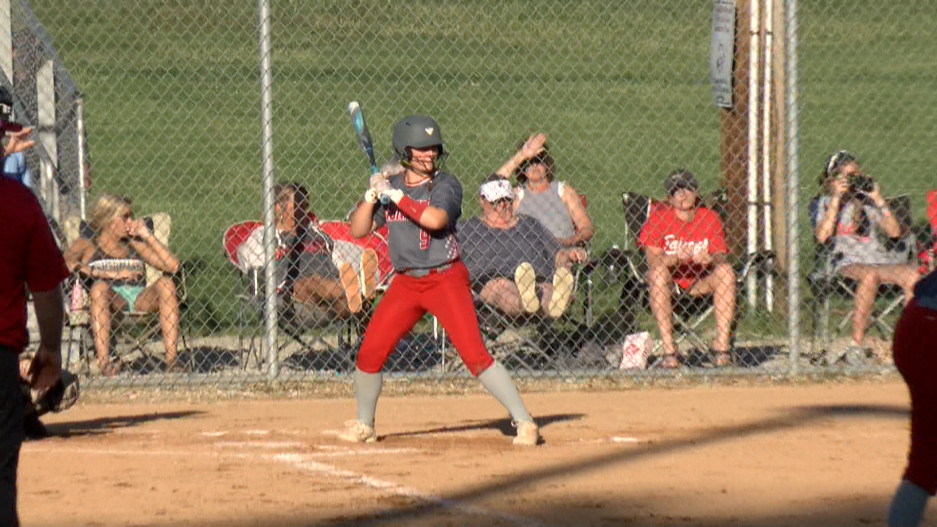 Image for Rossville soars in sectional softball semifinal